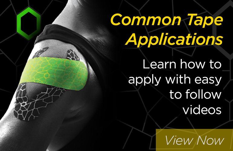 Common Kinesiology Tape Applications