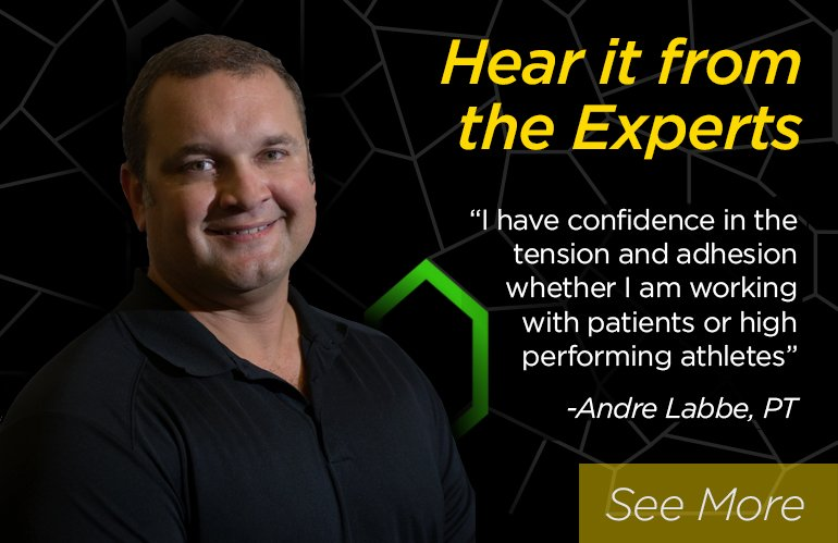 Expert Kinesiology Tape Testimonials
